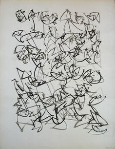 Brion Gysin  Germinations, 1959  Ink on paper
