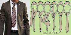 Le noeud de cravate windsor http://www.cravatechic.com/smartblog/80_Le-noeud-de-cravate-Windsor.html