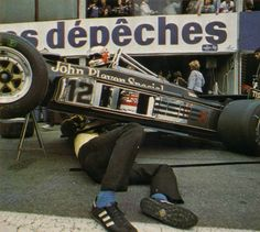 Nigel Mansell, Lotus-Ford 87, 1981 French Grand Prix, Dijon-Prénois