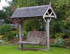 Garden Swing - Cheeky Robin