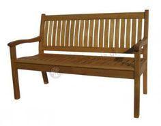 Piękna ławka do ogrodu <3 więcej przykładów http://www.meble.ogrodowe.net/lawki