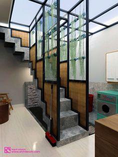 Arsitek Desain Rumah   Taman Belakang   Tangga   Garden   Staircase