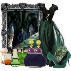 """The Hulk"" by jess-d90 on Polyvore"