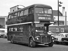 AEC Routemaster Park Royal Routemaster, Double Deck, Sunderland, Newcastle, Black And White, Park, Street, Trucks, Buses