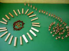 Resultado de imagem para juego heuristico reciclado Reggio Emilia, Ideas Para, Triangle, Mandala, Activities, Creative, Pattern, Heuristic Play, Games