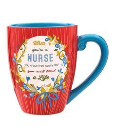 Love this 'Nurse' Mug on #zulily! #zulilyfinds