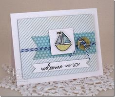 Card by Maureen Plut using Verve Stamps.  #vervestamps