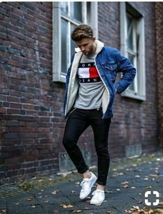 Men's Casual Fashion Tips, Trendy Mens Fashion, Dope Fashion, Fashion 2018, Urban Fashion, Casual Outfits, Men Casual, Fashion Guide, Street Fashion