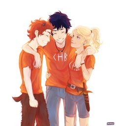 My favorite pjo trio :)