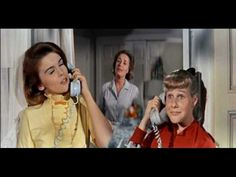 Musical Number: Bye Bye Birdie - Telephone Hour JAK Note: Betty Boyle grew up in this world and would have spent hours on the phone with her girlfriends. Telephone Song, Bye Bye Birdie, Cinema, Ann Margret, Film Books, Great Movies, To Youtube, Boys Who, The Magicians