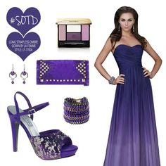 Love the shades of purple!