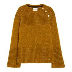 Stickad+tröja+med+ull+-+Lindex