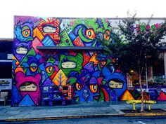 #sanfrancisco #streetart #grafitti #sf #gypsylife #nofilter #travellinghappiness