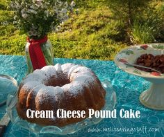 Cream Cheese Pound Cake - really, this is the best cake recipe ever!