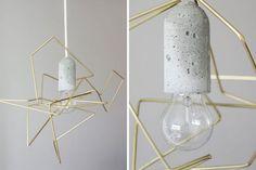Sleek Wire Lampshade