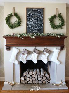 Christmas Fireplace Decor ideas