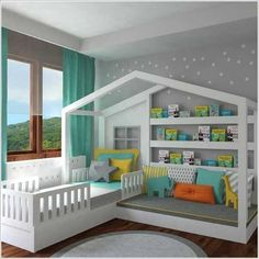 62 Most Stunning Ideas to Decorate Your Kids Room Home Trends trend homes Diy Decorations For Your Room, Cute Diy Room Decor, Baby Room Decor, Diy Bedroom Decor, Bedroom Ideas, House Decorations, Room Baby, Ikea Bedroom, Bedroom Wall