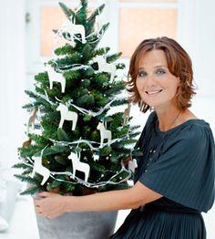 The perfect size Xmas tree ; Christmas And New Year, Christmas Crafts, Christmas Decorations, Holiday Decor, The Swede, Salt Dough, Scandinavian Christmas, Xmas Tree, December