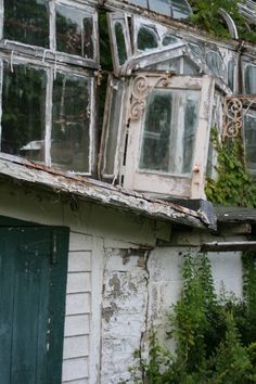 an abandoned greenhouse in wilkes-barre.