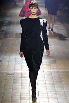 PARIS, FALL 2013 Lanvin designer Alber Elbaz