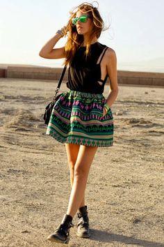 Une touche de rose: blog mode, DIY, cuisine, beauté: La jupe Patineuse :: DIY