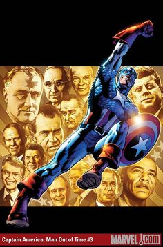 Captain America ~ Bryan Hitch