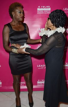 Viola Davis Photos: National Domestic Workers Alliance Honors Viola Davis And Cicely Tyson In DC