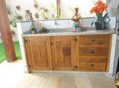Image result for portas rusticas para armario de pia