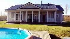 Kannustalo aurora - Google Search Beautiful Small Homes, Aurora, Google Search, Outdoor Decor, House, Home Decor, Decoration Home, Room Decor, Northern Lights