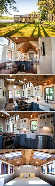 Denali XL by Timbercraft Tiny Homes &; Tiny Living Denali XL by Timbercraft Tiny Homes &; Tiny Living seblja seblja Tiny From Timbercraft Tiny Homes is this stunning […] Homes Cottage square feet Small Tiny House, Tiny House Living, Tiny House Plans, Tiny House Design, Tiny House On Wheels, Home Living, Tiny Tiny, Small Homes, Small Living