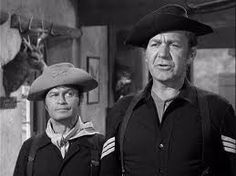Larry Storch (Agar) and Forrest Tucker (O'Rourke) in F Troop (1965-67).