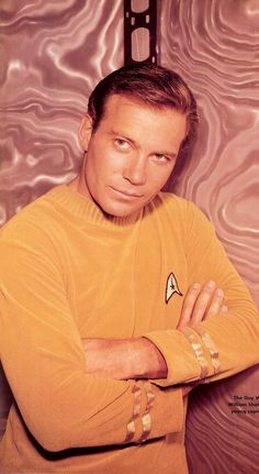 """William Shatner 1965 """"Where no man has gone before""""  Ok, I grew up with James T. Kirk and he is handsome as ever!!!"""