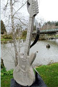Kurt Cobain Memorial, Aberdeen, Washington