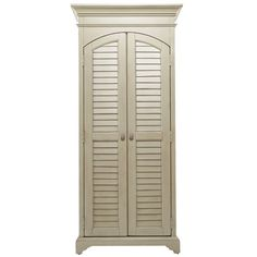 Pairing a distressed sea oat finish with 2 louvered doors, this classic cabinet brings country-chic appeal home. 4 drawers and 2 adjustable shelves KENSINGTON CABINET Construction Material: Wood 75H x 34W x 18D Color: Sea oat $893.95 was $1,655.71  @Joss Henry &Main   1/11/2014 Features:Part of the Paula Deen Home Collection