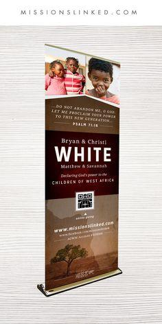 ✈︎ Passport Pull-Up Banner   #MissionsLinked   http://missionslinked.com/missionary-displays/passport-pul-up-banner/