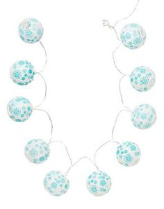 LILLY BALL CHAIN deckoration turquoise   Electric lamps   Lamps   Interior   INDISKA Shop Online Ball Chain, Dorm Decorations, Fashion Outfits, Womens Fashion, Indie, Turquoise, Boho, Clothes For Women, Interior Design