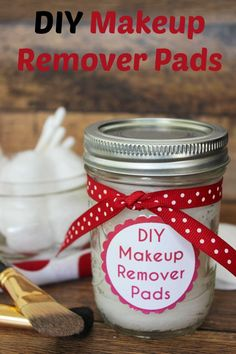 DIY Makeup Remover Pads   Coupons and Freebies Mom   These DIY Makeup Remover Pads are the perfect solution to quick makeup removal! Not only are they gentle for sensitive eyes and skin, they are inexpensive and perfect for keeping on hand for those occasions you need to quickly get rid of makeup.