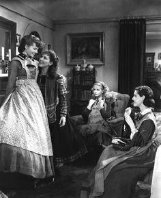LITTLE WOMEN, Katharine Hepburn, Jean Parker, Joan Bennett, Frances Dee, 1933