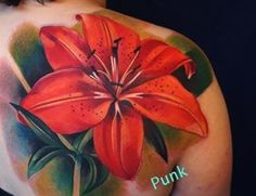 lilly tattoos shoulder | And Lily Shoulder Tattoo | Tattoo Inspiration - Worlds Best Tattoos ...
