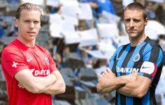 Club Brugge 2015/16 Nike Home and Away Kits