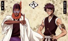 Squad 9: Kaname Tosen and Shuuhei Hisagi