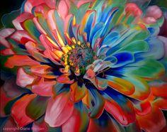 Goldens Sky, pintura original del artista Diane Morgan | DailyPainters.com
