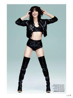 Milla Jovovich in Jeremy Scott, by Sebastian Faena for Vogue Turkey, May 2013