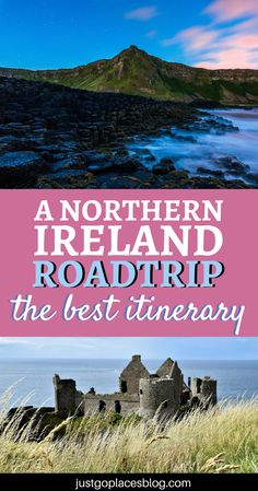 Planning a Northern Ireland road trip? Well, you are in luck, cause it's one of the most beautiful places for a roadtrip! Check out this Northern Ireland itinerary that includes Belfast and the Antrim Coast, and some breathtaking ladnscapes.| Northern Ireland travel tips | Northern Ireland photography |Northern Ireland game of thrones | Northern Ireland castles #northernireland #belfast #antrimcoast - via @justgoplaces