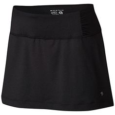 Mountain Hardwear Womens Mighty Activa Skort L BLACK ** You can get more details by clicking on the image.Note:It is affiliate link to Amazon. #likecommentfollow