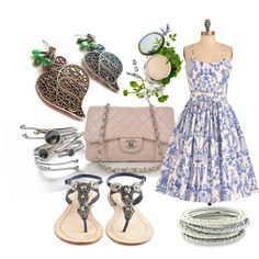 Spring Fling, created by dawndenise on Polyvore
