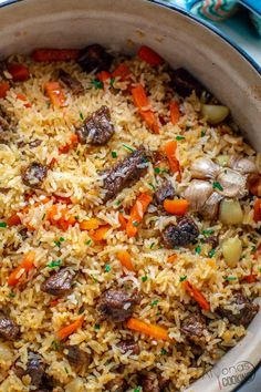 This is how Ive been making plov rice pilaf Itshellip Russian Recipes, Russian Dishes, Russian Foods, Cooking Recipes, Healthy Recipes, Cat Recipes, Curry Recipes, Rice Recipes, Sweets