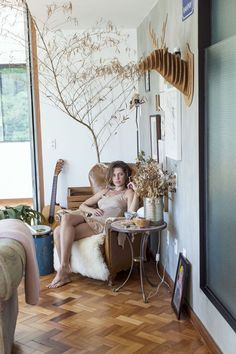 Casa da atriz Bruna Linzmeyer (Foto: Julia Rodrigues)