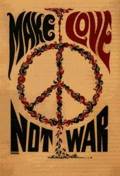 ☯☮ॐ American Hippie Psychedelic Art ~ Make Love Not War - OBEY Shepard Fairey street artist . . revolution OBEY style, street graffiti, illustration and design posters.