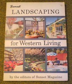 New to BigfootCountryTrader on Etsy: Landscaping for Western Living by the Editors of Sunset Magazine - Vintage 1960 (25.00 USD)